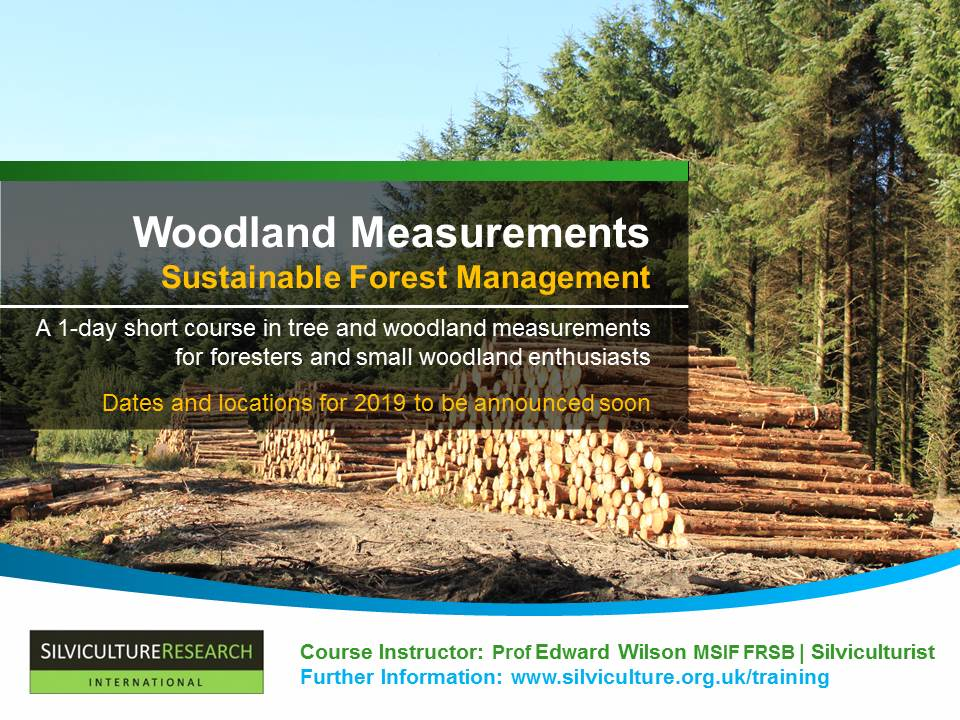 Woodland Measurements for Sustainable Forest Management